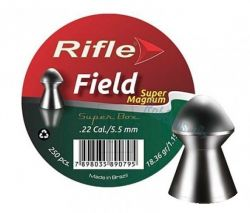 Chumbinho Rifle Field Super Magnum 5,5 mm / 250 unidades