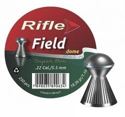 Chumbinho Rifle Field Dome 5,5 mm / 250 unidades
